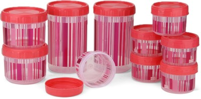 Polyset F-Kart Twisty  - 340, 725, 1475 Plastic Multi-purpose Storage Container(Pack of 10, Pink)