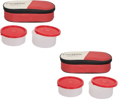 Carrolite Combo 2 in 1 Lunch Box 4 Containers Lunch Box