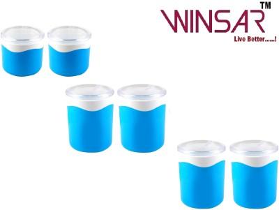 Winsar Boonet 6 Pcs.  - 1100 ml, 800 ml Polypropylene Multi-purpose Storage Container