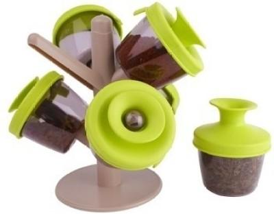 Ideal Home Pop Up Spice Rack  - 120 ml Plastic Food Storage