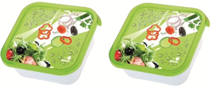 Juypal Hogar Iml Taperfresh  - 900 ml Plastic Food Storage(Pack of 2, Multicolor)