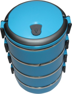 Blue Birds  - 1400 ml Stainless Steel Multi-purpose Storage Container