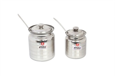 Kaveri  - 750 ml Stainless Steel Grocery Container