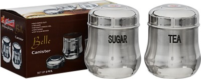 MiLi  - 1000 ml Stainless Steel Tea, Coffee & Sugar Container