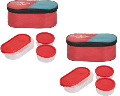 Carrolite Combo 3 in 1 Lunch Box 6 Containers Lunch Box