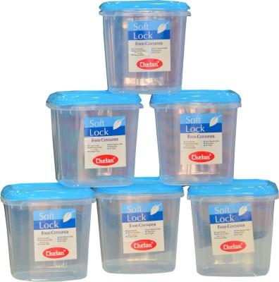 Chetan 6PC Softlock Plastic Kitchen Storage? Containers 3000ml  - 3000 ml Plastic Food Storage