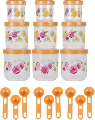 Zolo Pikaso Floral Pattern  - 250 ml, 500 ml, 700 ml Plastic Food Storage