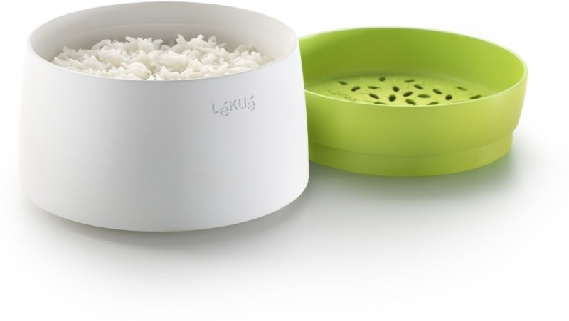 Lekue  - 1 ml Silicone, Plastic Food Storage(White, Green)
