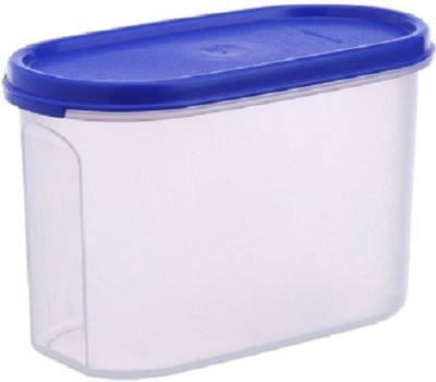 SUNVI TUPPERWARE MM OVAL#2 containers  - 1100 ml Plastic Multi-purpose Storage Container(Blue)