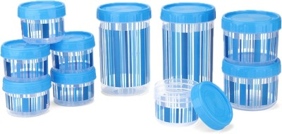 Polyset F-Kart Twisty  - 340, 725, 1475 Plastic Multi-purpose Storage Container(Pack of 10, Blue)