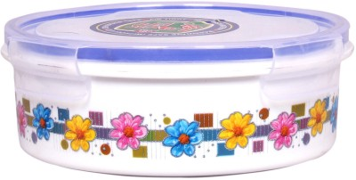 Lock & Fit Floral round container  - 1000 ml Plastic Food Storage(Multicolor) at flipkart