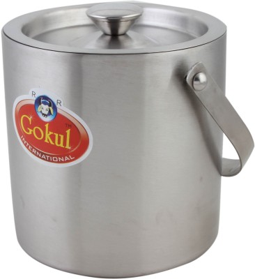 Gokul  - 1000 ml Stainless Steel Grocery Container