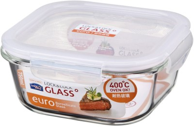 Lock & Lock Euro Square Bake and Store - 750 ml Glass Food Storage