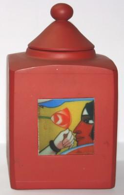 Ganges Art Gallery  - 6 dozen Wooden Tea, Coffee & Sugar Container