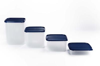 Signoraware Easy to Organise  - 1200 ml, 2600 ml, 4500 ml, 6500 ml Plastic(Pack of 4, Blue)