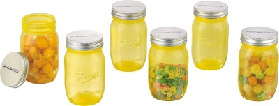 MasterCook Fresh Mason Jar  - 500 ml Plastic Food Storage