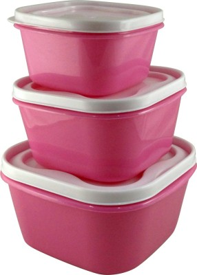 Manbhari  - 2400 ml, 1400 ml, 800 ml Plastic Multi-purpose Storage Container