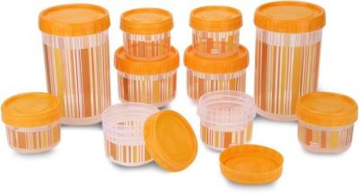 Polyset F-Kart Twisty  - 340, 725, 1475 Plastic Multi-purpose Storage Container(Pack of 10, Orange)