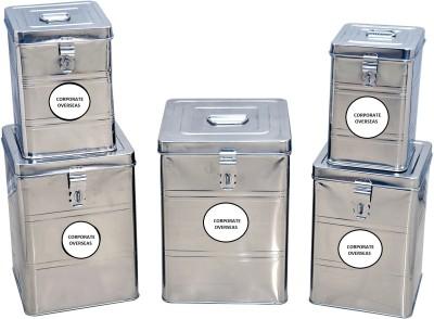 CORPORATE OVERSEAS  - 5000 ml Steel Multi-purpose Storage Container