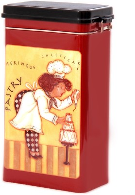 Treasure Trunk Lady Chef Design  - 1000 ml Stainless Steel Multi-purpose Storage Container