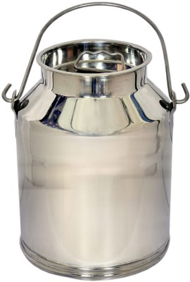 CORPORATE OVERSEAS  - 7.5 L Silver Milk Container