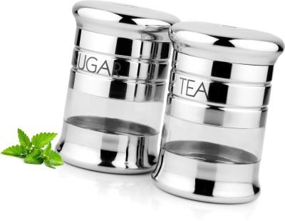 Demkas Lancer Tea Sugar Set  - 500 ml Stainless Steel Multi-purpose Storage Container
