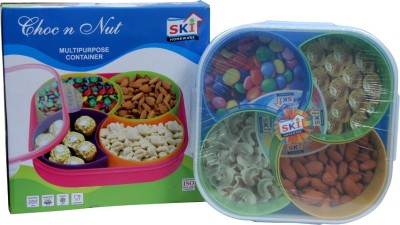 SKI Homeware Choc N Nut  - 750 ml Plastic Food Storage