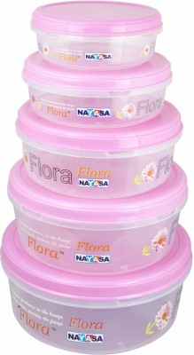 Nayasa Store in Container Size 20-24 - 800 ml, 1350 ml, 6000 ml, 3700 ml, 2400 ml Plastic Food Storage