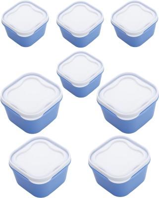 Patidar Polymers Airtight FoodSaver  - 2400 ml, 2400 ml, 2400 ml, 2400 ml, 1400 ml, 1400 ml, 1400 ml, 1400 ml Plastic Multi-purpose Storage Container