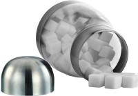 JVL Pot Tapper/Pot Doom Canister  - 500 ml Stainless Steel, Plastic Food Storage(Steel)