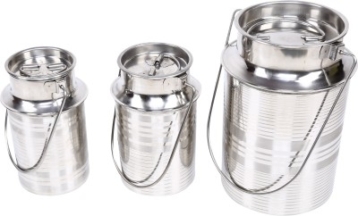 daksh enterprises  - 1.5 L, 2 L, 5.5 L Stainless Steel Milk Container