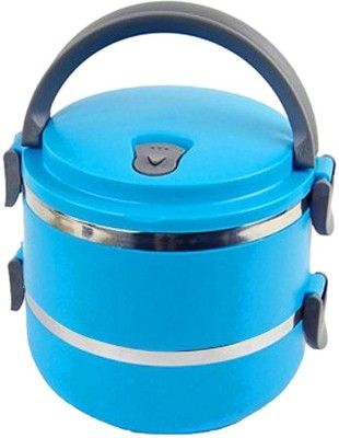 Gade Lunchbox With Stainless Steel And Air Tight  - 1400 ml Plastic Food Storage