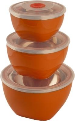 birde  - 500 ml, 300 ml, 200 ml Steel, Plastic Multi-purpose Storage Container