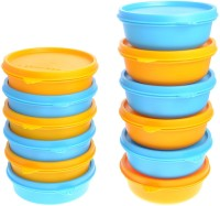 Herware 104-07  - 4860 ml Plastic Multi-purpose Storage Container(Pack of 12, Multicolor)