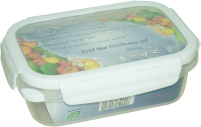 MOM Italy Rectangle Food - Air Bubble Lid  - 700 ml Plastic Food Storage