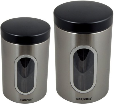 Bergner  - 2.75 L Stainless Steel Tea, Coffee & Sugar Container