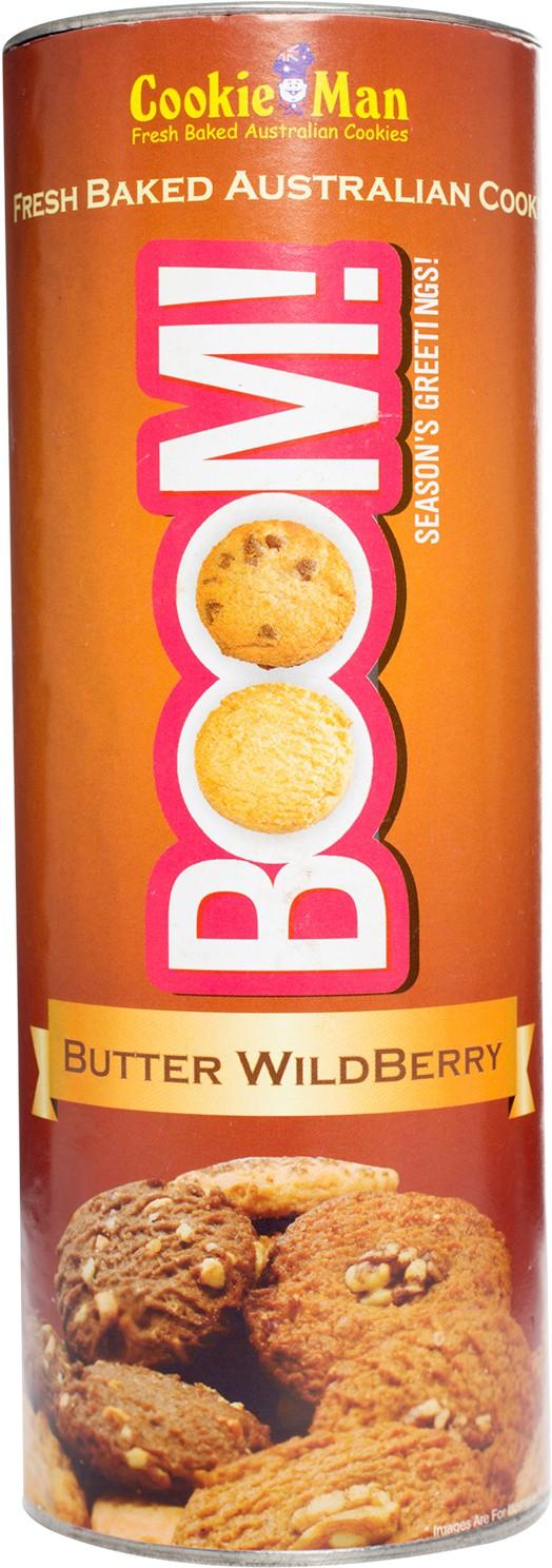 Cookieman Wildberry Butter Cookie