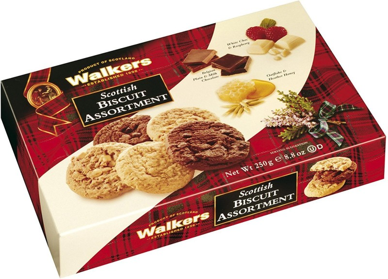 Walkers Scottish 250g Assorted Biscuit(250 g)