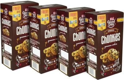 Britannia Chunkies4 Chocolate Chip Cookie(400 g)