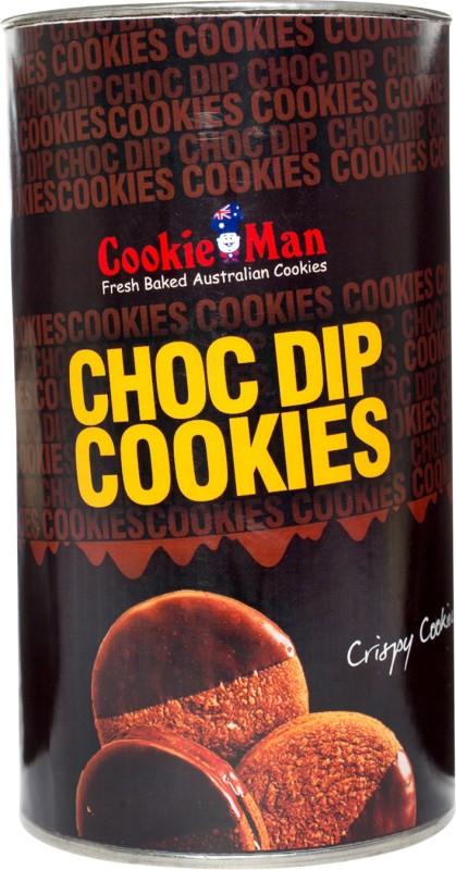 Cookieman Choc Dip Chocolate Cookie(0.15 kg)