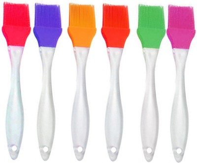 Evana Silicone Flat Pastry Brush(Pack of 6)