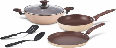 ALDA ALDA 3pc non-stick cookware set Cookies & Creme Cookware Set