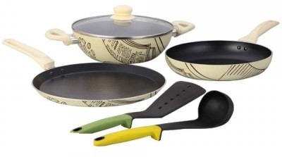 Wonderchef Picasso Cookware Set(Aluminium, 4 - Piece)