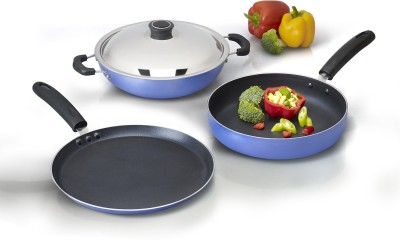 Anjali Cookware Set(PTFE (Non-stick), 4 - Piece)