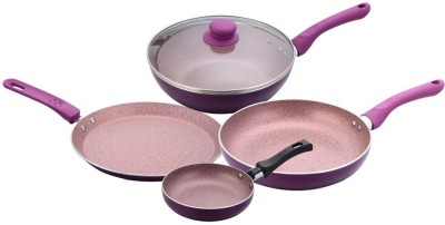 Wonderchef Cookware Set(Aluminium, PTFE (Non-stick), 4 - Piece)