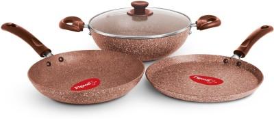 Pigeon Granito Cookware Set(Aluminium, 4 - Piece)