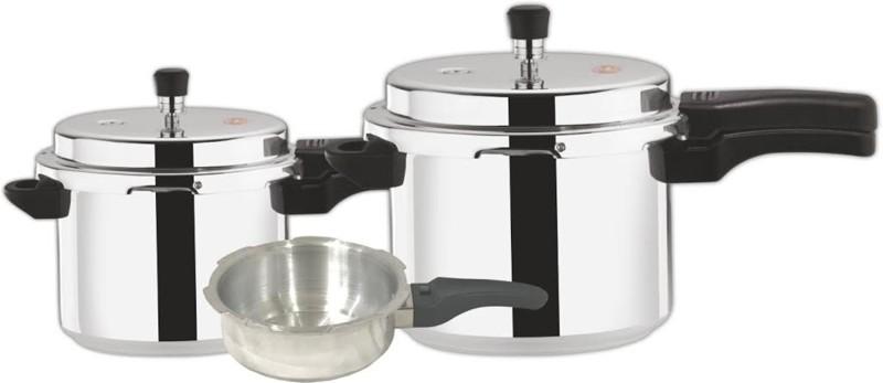 Ndura COOKER COMBI Cookware Set(Aluminium, 3 - Piece)