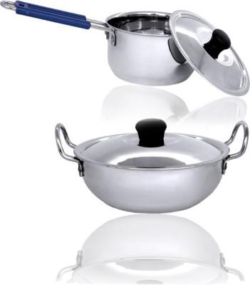 bartan hub Cookware Set(Stainless Steel)