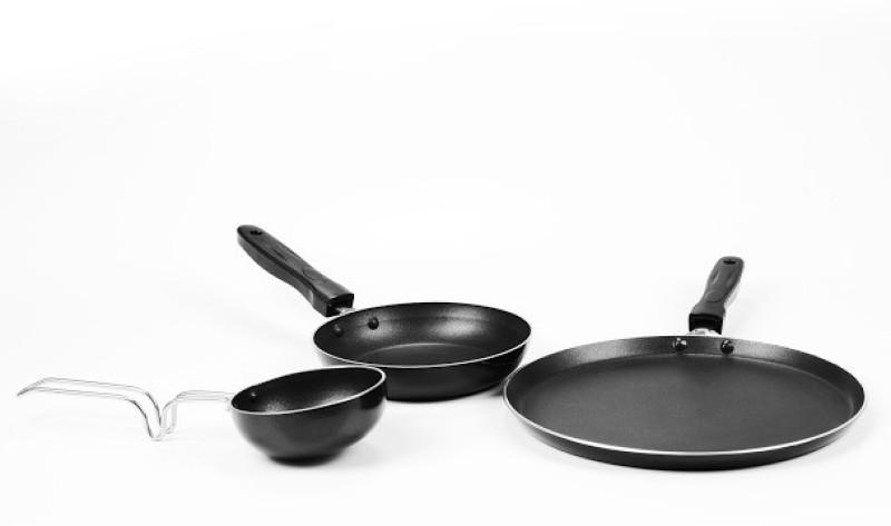 Sumeet Nonstick Triumph Gift Set Cookware Set(Aluminium, 3 - Piece)
