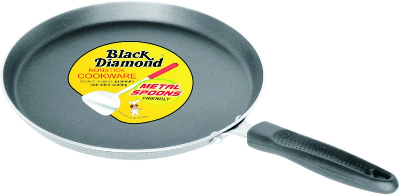 Black Diamond Non Stick Premium Dosa Tava Small 250 mm Cookware Set(Aluminium, Ceramic, 1 - Piece)